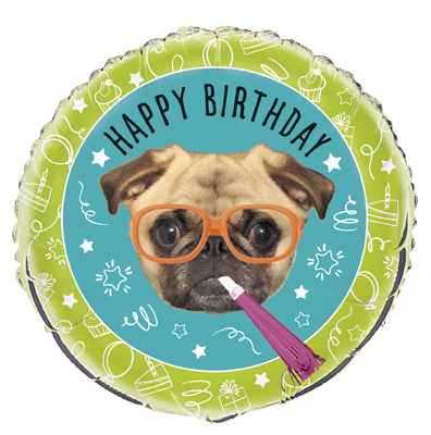 Happy Birthday Pug 18